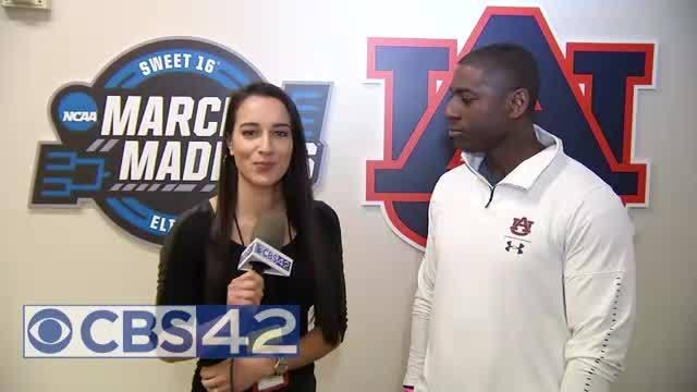 Allen Green with CBS 42'S Simone Eli