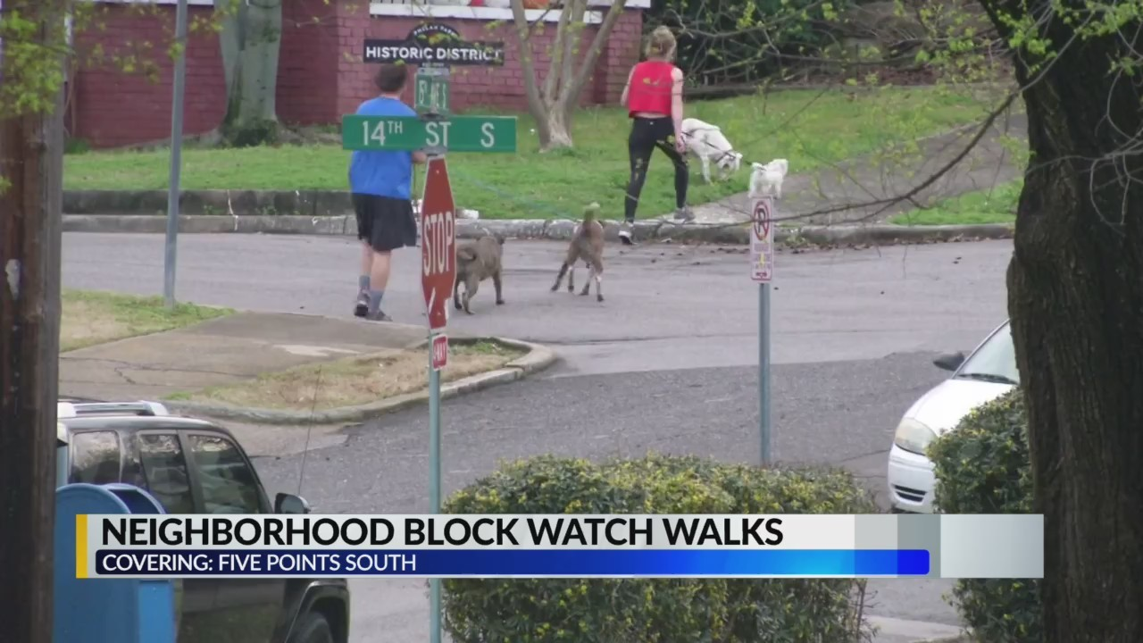 Neighborhood block watch walks in Five Points South