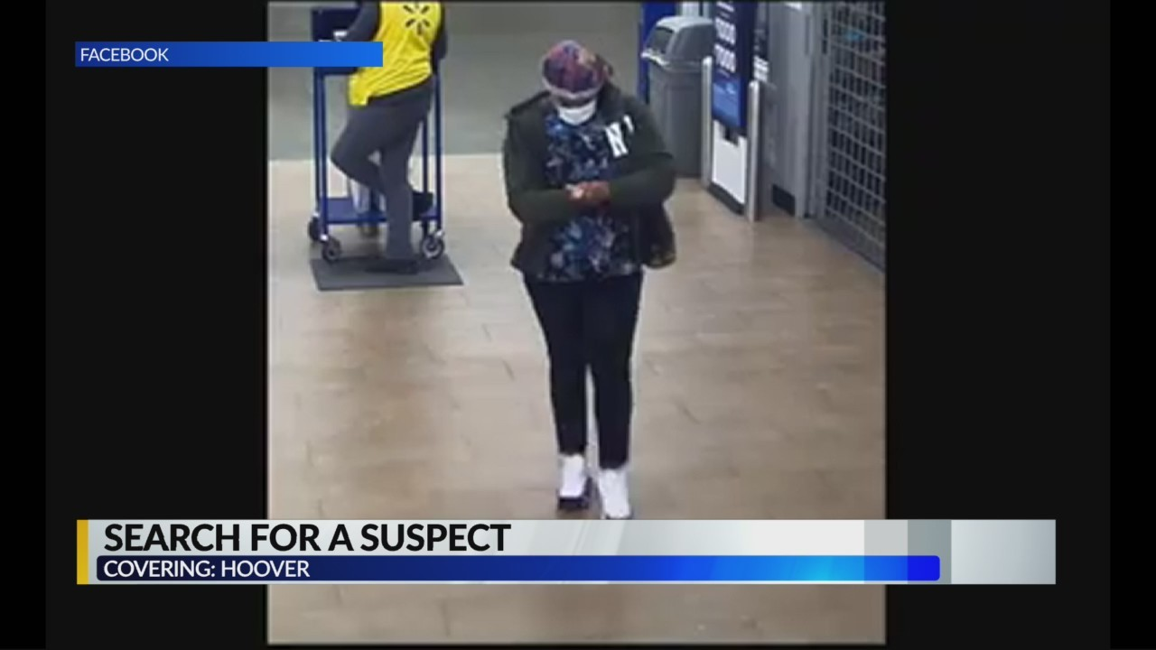 Search for suspect in stolen credit card case
