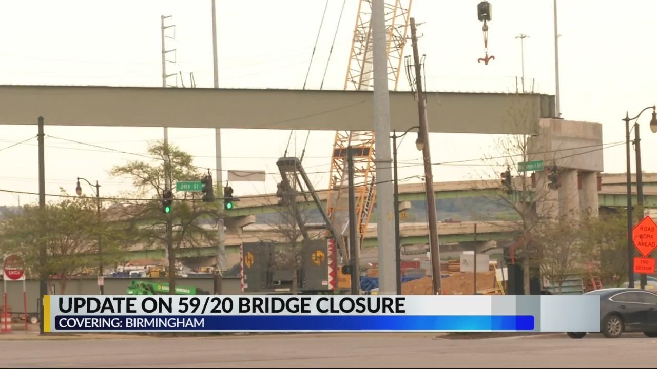 59/20 BRIDGE CLOSURE UPDATE