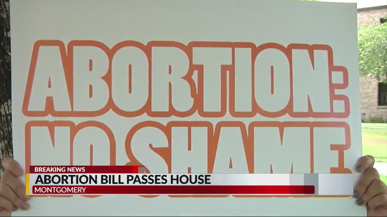 Abortion bill passes Alabama House