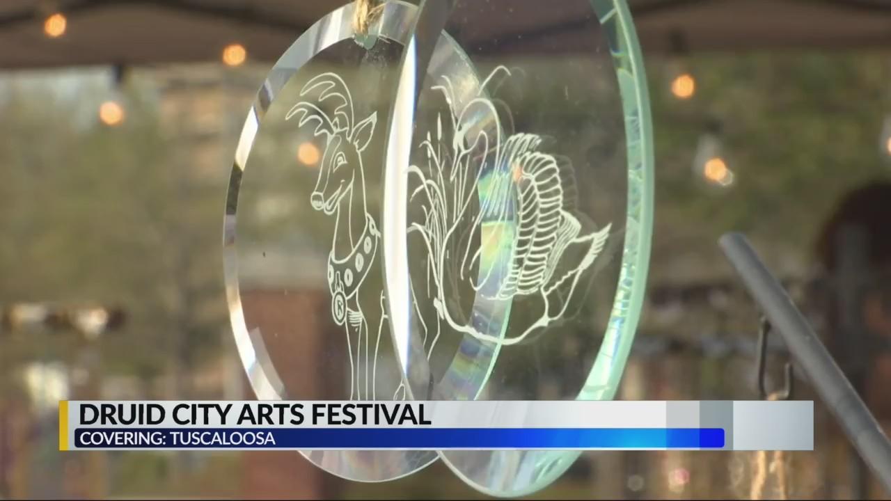 Druid City Arts festival in Tuscaloosa