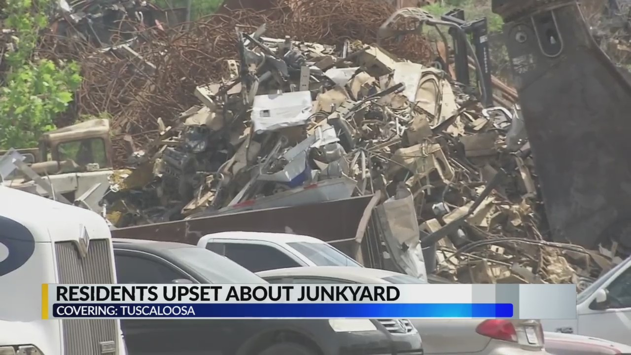 Tuscaloosa residents upset about junkyard noise