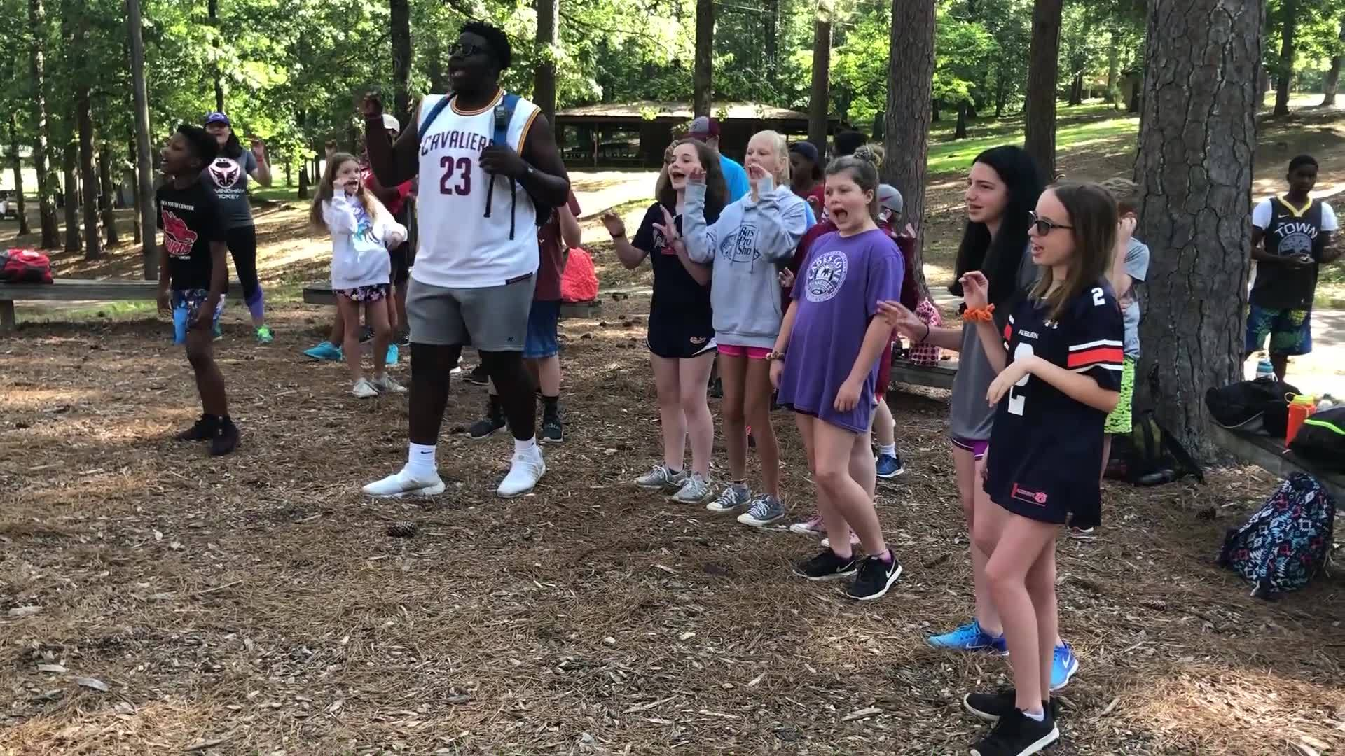 Summer in the South: Camps across Alabama