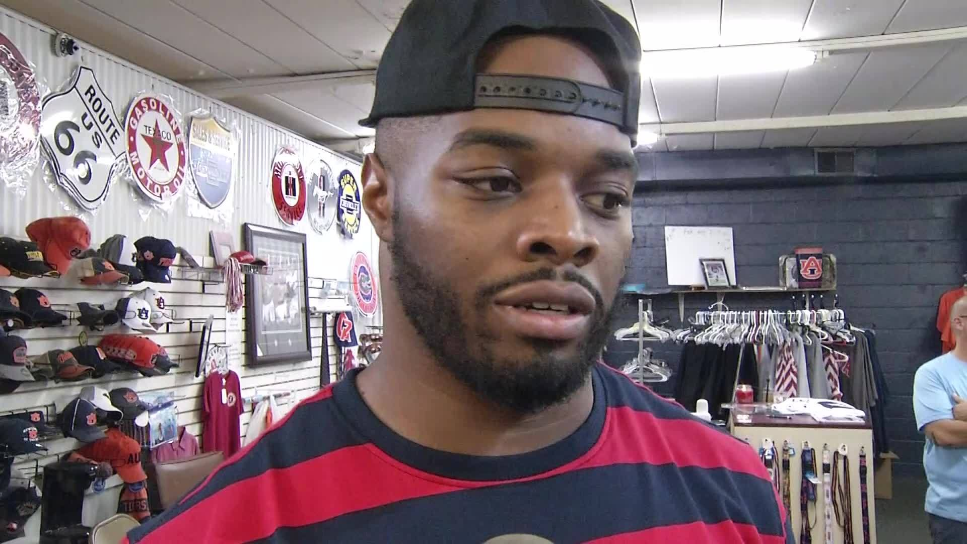 Trent Richardson and Blake Sims on Football futures