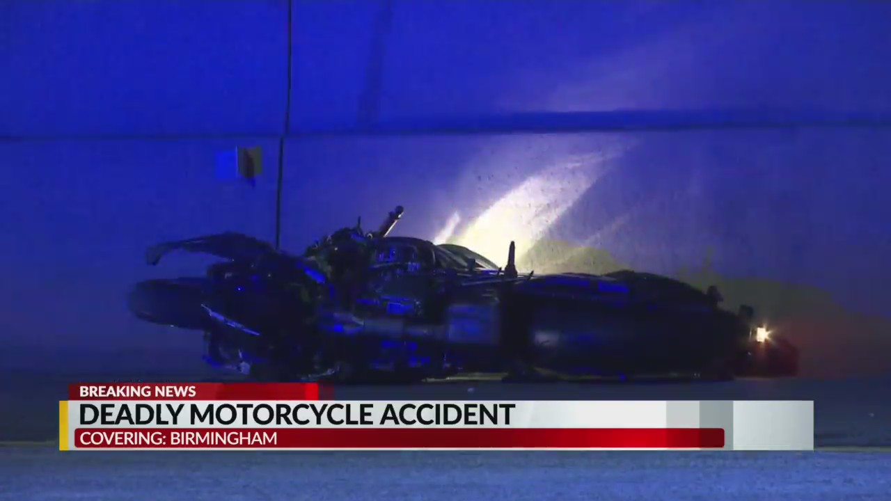 Victim identified after Friday's motorcycle accident