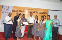 Our IX Std students  attended four days work shop on Young Entrepreneur development programme conducted by Tamil Nadu Government at Trichy Hallmark Business School