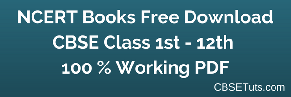 NCERT Books Free Download for CBSE Class 1 to Class 12