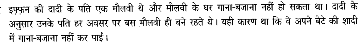Chapter Wise Important Questions CBSE Class 10 Hindi B - टोपी शुक्ला 95