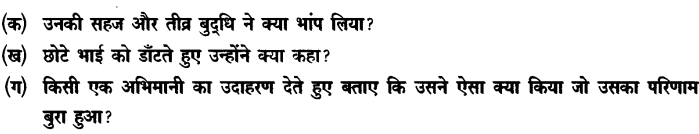 Chapter Wise Important Questions CBSE Class 10 Hindi B - बड़े भाई साहब 46
