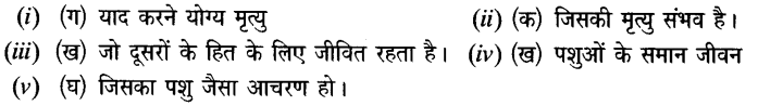 Chapter Wise Important Questions CBSE Class 10 Hindi B - मनुष्यता 44