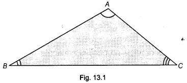 NCERT Class 9 Maths Lab Manual - Verify Exterior Angle Property of a Triangle 1