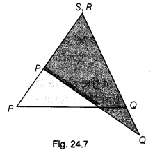 NCERT Class 9 Maths Lab Manual - Verify that the Angles in the Same Segment of a Circle are Equal 7