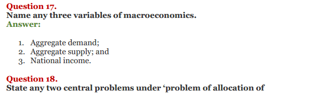 NCERT Solutions for Class 12 Micro Economics Chapter 1 Introduction to Economics 8