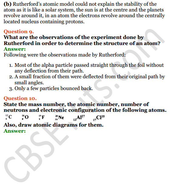 Selina Concise Chemistry Class 8 ICSE Solutions Chapter 4 Atomic Structure 6