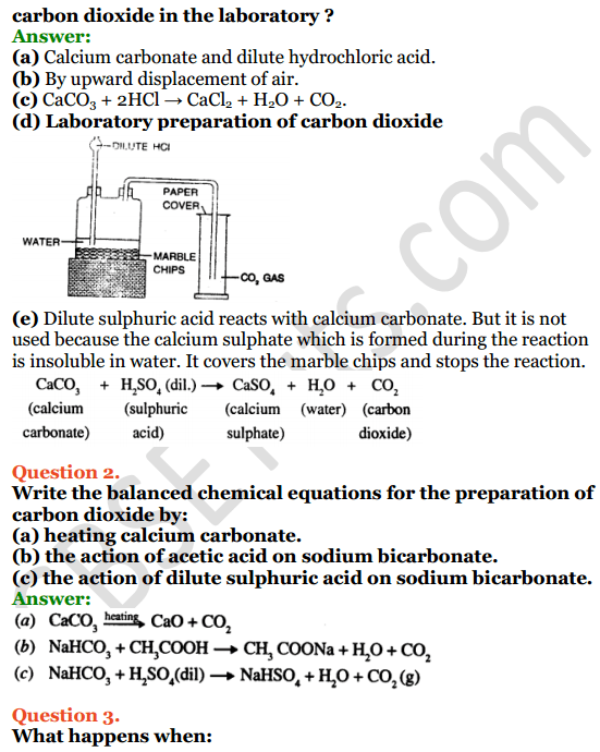 Selina Concise Chemistry Class 8 ICSE Solutions Chapter 9 Carbon and Its Compounds 12