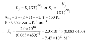NCERT Solutions for Class 11 Chemistry Chapter 7 Equilibrium 10