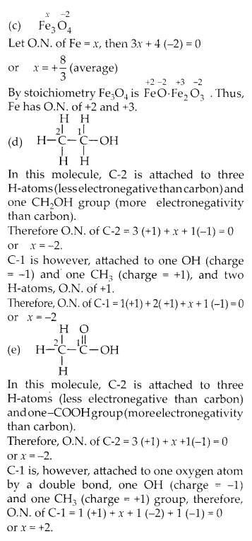 NCERT Solutions for Class 11 Chemistry Chapter 8 Redox Reactions 4