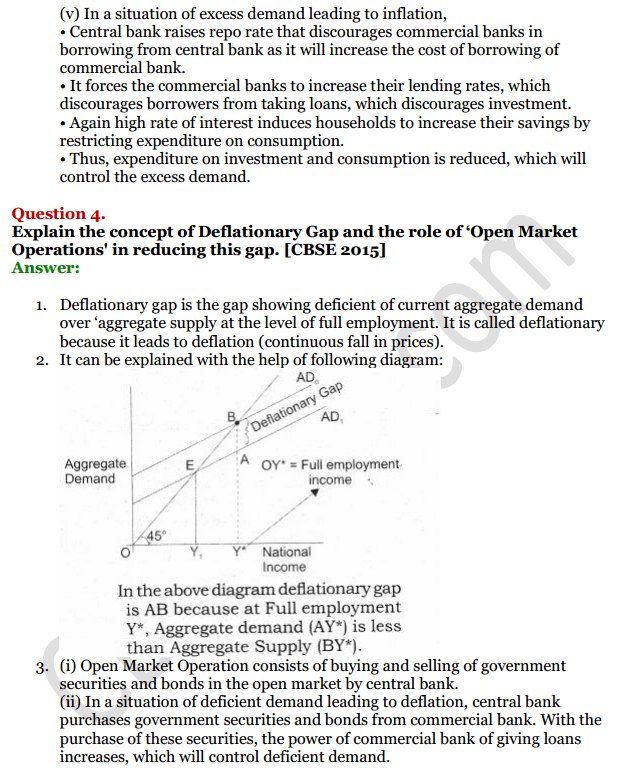 NCERT Solutions for Class 12 Macro Economics Chapter 7 Excess Demand and Deficient Demand 15
