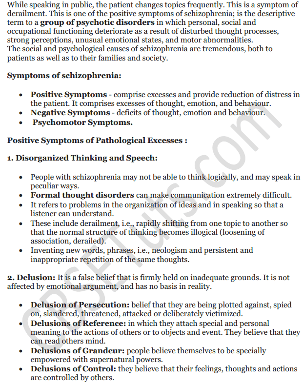 NCERT Solutions for Class 12 Psychology Chapter 4 Psychological Disorders 15
