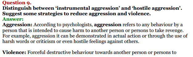 NCERT Solutions for Class 12 Psychology Chapter 8 Psychology And Life 13