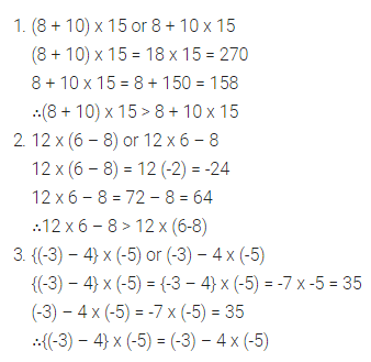 Selina Concise Mathematics Class 7 ICSE Solutions Chapter 1 Integers Ex 1A 11