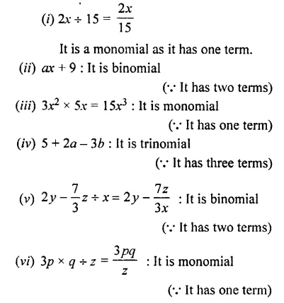 Selina Concise Mathematics Class 7 ICSE Solutions Chapter 11 Fundamental Concepts (Including Fundamental Operations) Ex 11A 2