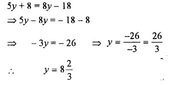 Selina Concise Mathematics Class 7 ICSE Solutions Chapter 12 Simple Linear Equations Ex 12B 36