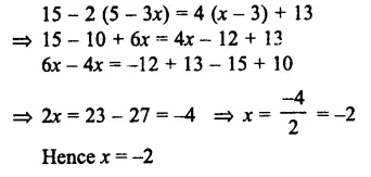 Selina Concise Mathematics Class 7 ICSE Solutions Chapter 12 Simple Linear Equations Ex 12C 76