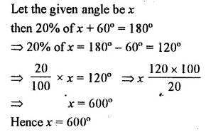 Selina Concise Mathematics Class 7 ICSE Solutions Chapter 14 Lines and Angles Ex 14A 19
