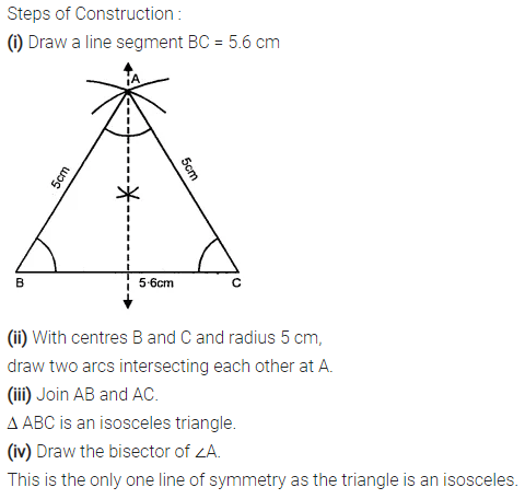 Selina Concise Mathematics Class 7 ICSE Solutions Chapter 17 Symmetry Ex 17A 9
