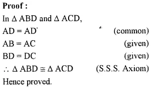 Selina Concise Mathematics Class 7 ICSE Solutions Chapter 19 Congruency Congruent Triangles 3