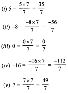 Selina Concise Mathematics Class 7 ICSE Solutions Chapter 2 Rational Numbers Ex 2A 11