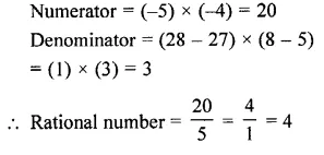 Selina Concise Mathematics Class 7 ICSE Solutions Chapter 2 Rational Numbers Ex 2A 3