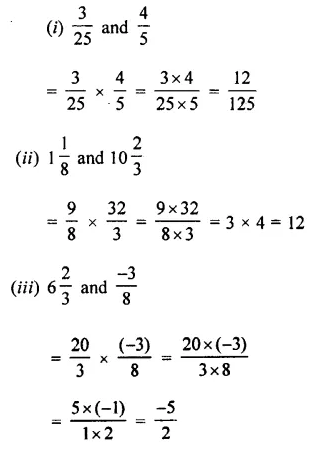 Selina Concise Mathematics Class 7 ICSE Solutions Chapter 2 Rational Numbers Ex 2D 77
