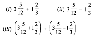 Selina Concise Mathematics Class 7 ICSE Solutions Chapter 2 Rational Numbers Ex 2D Q7