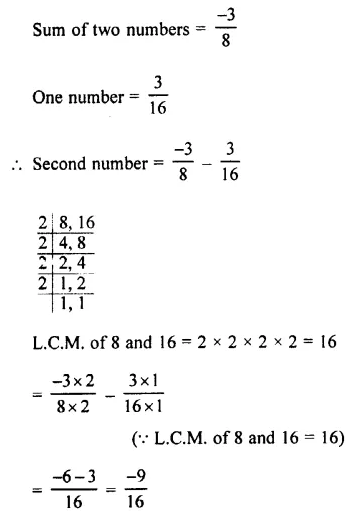 Selina Concise Mathematics Class 7 ICSE Solutions Chapter 2 Rational Numbers Ex 2E 106