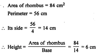 Selina Concise Mathematics Class 7 ICSE Solutions Chapter 20 Mensuration Ex 20B 42