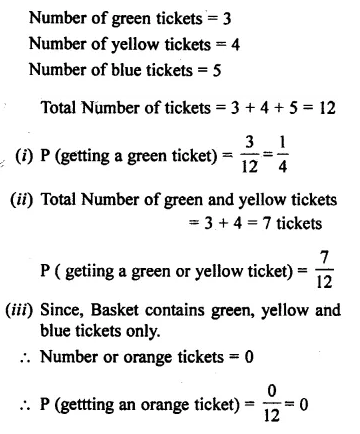 Selina Concise Mathematics Class 7 ICSE Solutions Chapter 22 Probability Ex 22B 14