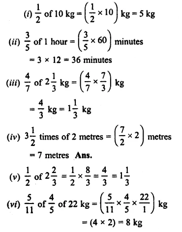 Selina Concise Mathematics Class 7 ICSE Solutions Chapter 3 Fractions (Including Problems) Ex 3C 39