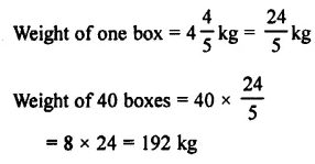 Selina Concise Mathematics Class 7 ICSE Solutions Chapter 3 Fractions (Including Problems) Ex 3C 52