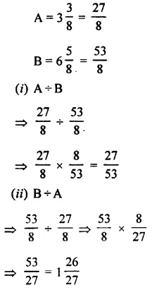 Selina Concise Mathematics Class 7 ICSE Solutions Chapter 3 Fractions (Including Problems) Ex 3C 55