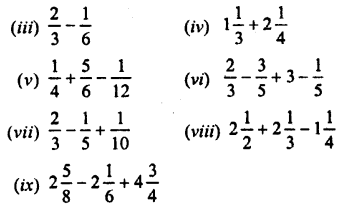 Selina Concise Mathematics Class 7 ICSE Solutions Chapter 3 Fractions (Including Problems) Ex 3C Q1.1