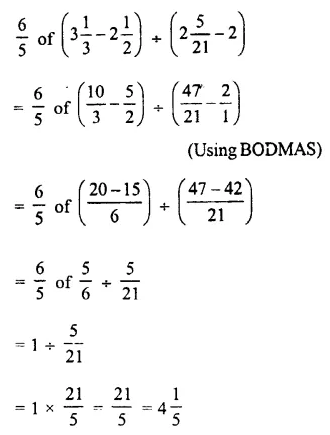 Selina Concise Mathematics Class 7 ICSE Solutions Chapter 3 Fractions (Including Problems) Ex 3D 66