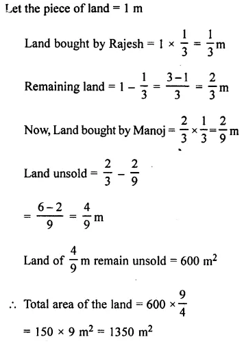 Selina Concise Mathematics Class 7 ICSE Solutions Chapter 3 Fractions (Including Problems) Ex 3E 91