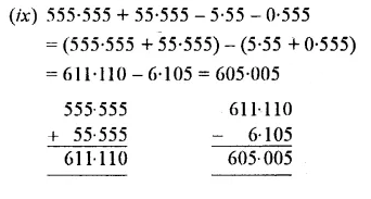 Selina Concise Mathematics Class 7 ICSE Solutions Chapter 4 Decimal Fractions (Decimals) Ex 4B 16