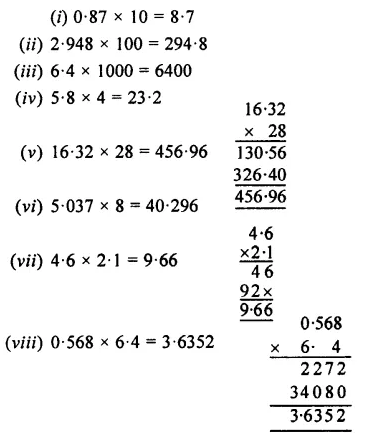 Selina Concise Mathematics Class 7 ICSE Solutions Chapter 4 Decimal Fractions (Decimals) Ex 4C 27