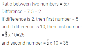 Selina Concise Mathematics Class 7 ICSE Solutions Chapter 6 Ratio and Proportion (Including Sharing in a Ratio) Ex 6A 10