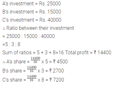 Selina Concise Mathematics Class 7 ICSE Solutions Chapter 6 Ratio and Proportion (Including Sharing in a Ratio) Ex 6A 17