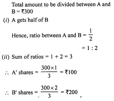 Selina Concise Mathematics Class 7 ICSE Solutions Chapter 6 Ratio and Proportion (Including Sharing in a Ratio) Ex 6A 21